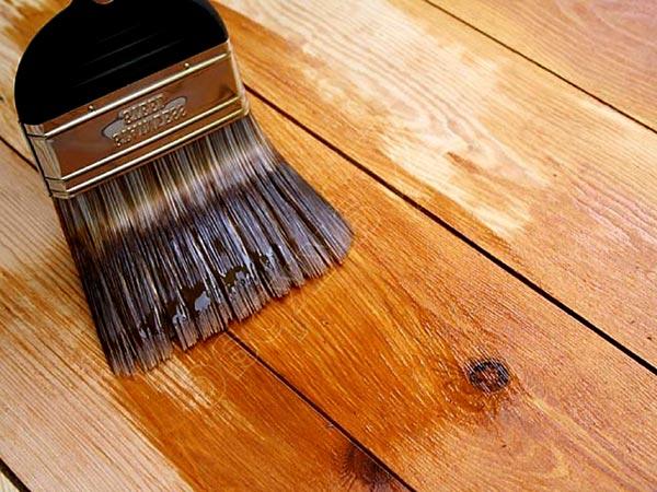 Чем покрасить деревянную беседку