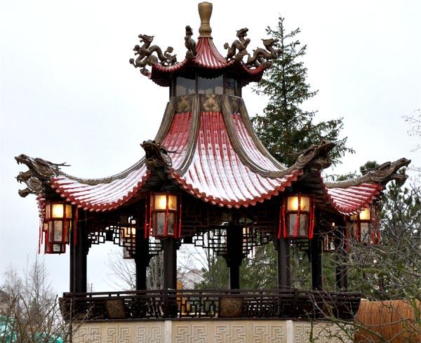 Беседки Китай