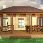Беседки и дома в стиле «Шале»